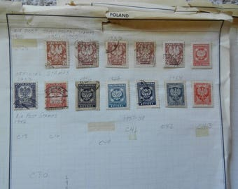 998 Polish Postage Stamps FROM 1950 TO  1980