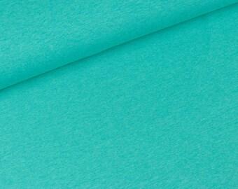 Cotton Jersey Jaro aquamarine mix (16,50 EUR / meter)