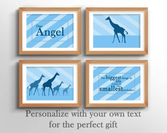 Baby Shower Gift - gift for baby shower, personalized shower gift for baby, nursery wall art for baby shower gift