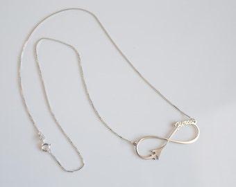 B-1 Infinity Necklace (Fierce)