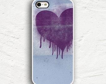 Paint Heart iPhone 7 Case iPhone 7 Plus Case iPhone 6s Case iPhone 6 Plus Case iPhone 5s iPhone 5 Case iPhone 5c Cover