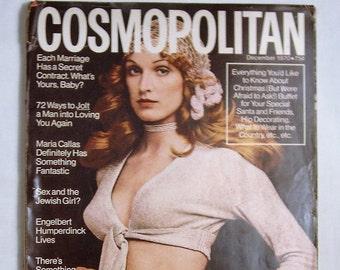Cosmopolitan Magazine December 1970 Issue
