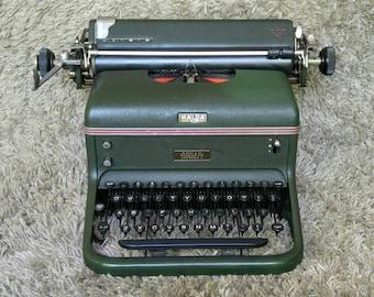 Free Shipping* | Halda 6 | Antique Typewriter | Made in Stockholm | Sweden 1948 | In Working Condition | Skrivmaskin | Schreibmaschine