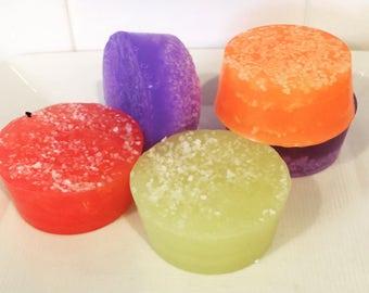 Sea Salt Scrub Soap Pucks