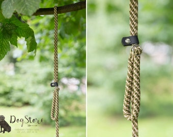 Slip Lead - Rope leash - Hunter