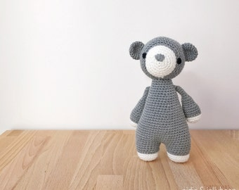 BEAR crochet amigurumi, Baby and toddler toy, Baby gift, Amigurumi bear, Handmade toy, Crochet bear, gift for kids, photography prop