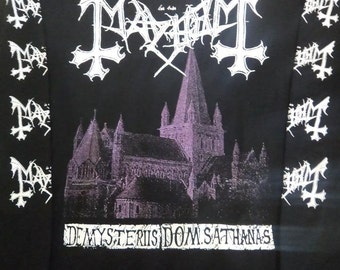 New Mayhem de mysteriis dom sathanas longsleeve shirt  - Marduk,Absu,Burzum