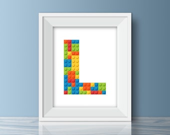 Lego Wall Art lego wall art | etsy