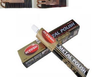 75ml Autosol cream Knife machine polishing wax mirror metal stainless steel watch polishing paste