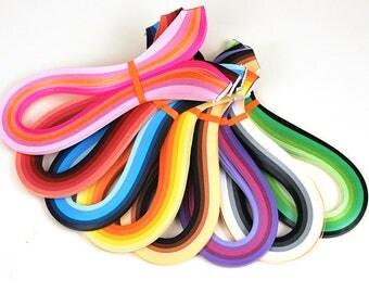 720PCS 3MM Width * 54CM Length DIY Paper Material Mixed 36 Colors Quilling Paper Set