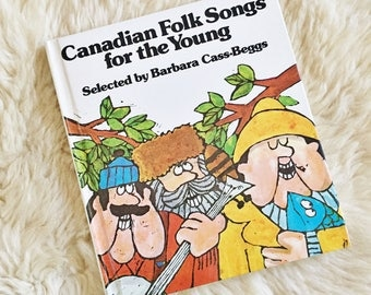 S A L E Vintage Children's Folk Songs Book // Made in Canada