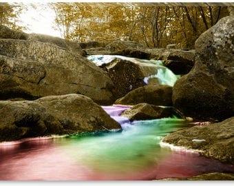 Waterfall - Canvas Print