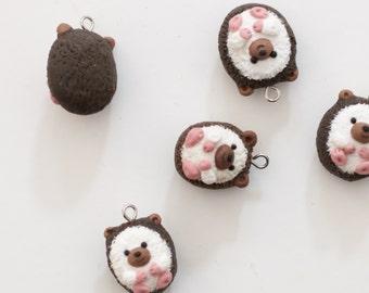 Hedgehog Necklace | Hedgehog Charms | Hedgehog Figurine | Hedgehog Charm Necklace | Gifts For Her