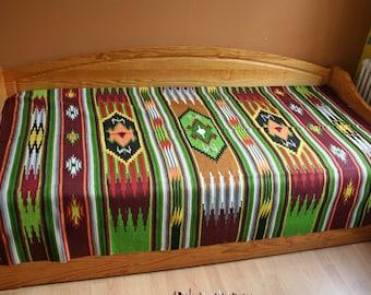 Kilim 197 x 135 carpet indoor hand-woven wool fabric wool coverlet carpet kilim rug, virgin wool, hand woven rugs, southwestern ethnic