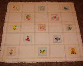 Baby Knit Quilt