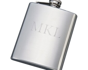Stainless Steel 8oz. Flask