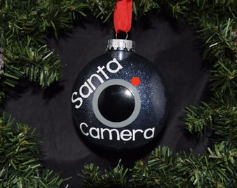Santa Cam - Christmas Ornaments - Spy Camera - Santa Cam Ornament - Santa Camera Ornament - Ornaments - Christmas Tree Ornaments