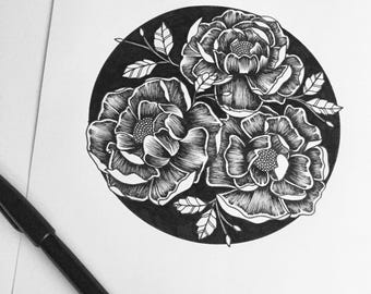 Spring Floral A4 Print