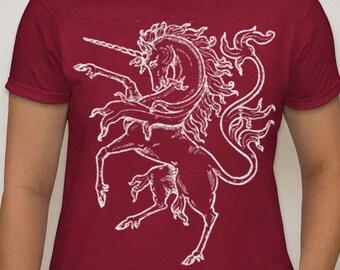 Heraldric Unicorn Woman's Tee