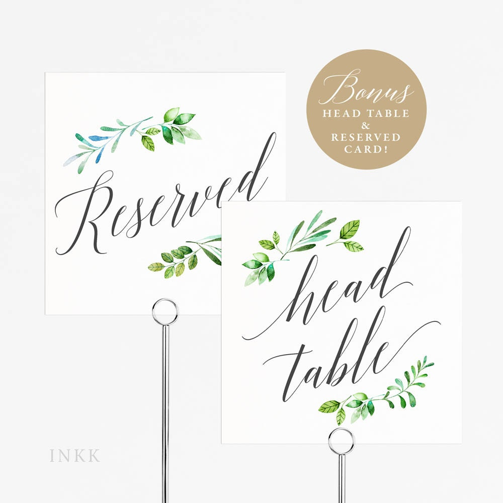 Printable Table Number Tent Cards Brokeasshome Com