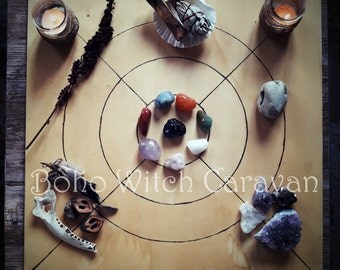 Divining with crystals