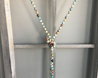 Double Strand Bead Necklace
