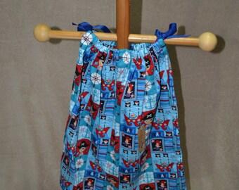 Pillowcase Dress - Pirate Print
