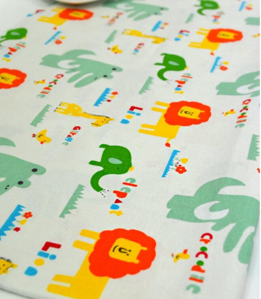 Animal fabric baby fabric kids fabric lion fabric giraffe for Childrens animal fabric