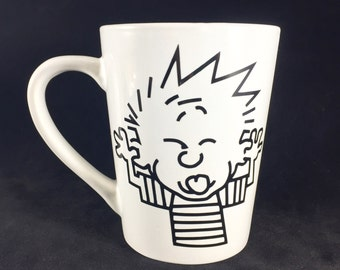 Calvin cup from Calvin and Hobbes
