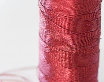 1 meter of diameter 0.8 mm metallic red cord