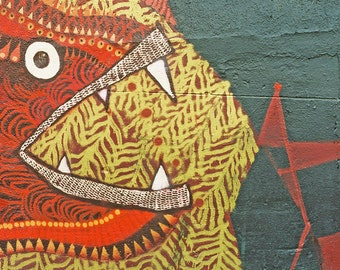 A great gift idea is an art print of street art from Melbourne's historic lane-ways (2010)