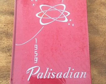 The Palisadian, 1959 Palisades High School Year Book, Kintnersville, PA