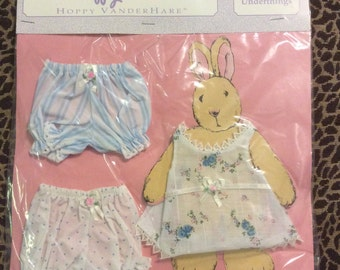 Hoppy VanderHare Muffy 's BFF mint in Plastic Underthings Underwear, Panties, Bloomers, Chemise