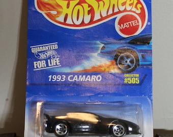 """93 Camaro Collector #505 Hot Wheels """"Lean & Lo"""""""