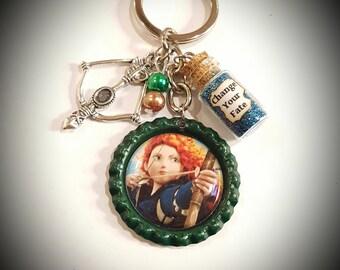 Disney Brave inspired keychain