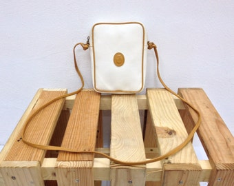 Vintage TRUSSARDI Leather Sling/Crossbody Bag