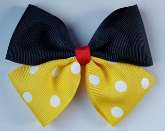 Mickey Inspired Baby Hair Clip