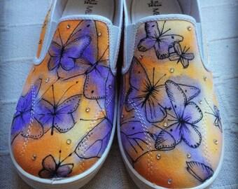 KIDS Jacaranda Butterfly Soles