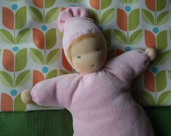 Rag Doll Tilda, first doll, weighing doll