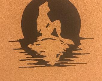 Disney Pin Display Board Little Mermaid