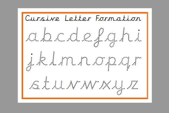 lower case cursive letters printable tracing cursive lower letters tracing letters 12918 | il 570xN.1202943425 mw1q