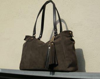 Women's Genuine Leather Handbag -mod.31