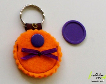 """Chip bags """"Orange"""" incl. chip by frollein cosa"""