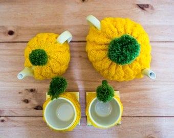 Pineapple Mug and coaster set