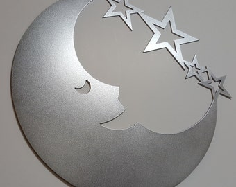 Metal star wall decor etsy - Decoration mural en metal ...