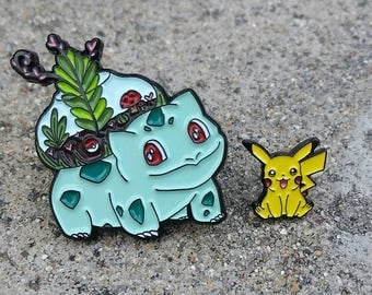 Bulby-saur Enamel Pin (Bulbasaur)