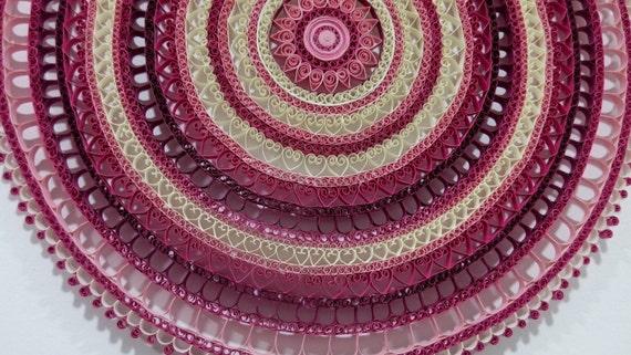 Quilled Mandala   wall decoration