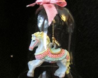 PRECIOUS MOMENTS COLLECTABLE Carousel Horse Bell. 1996