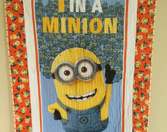 1 in a Minion Quilt Kit  Minion Fabric for Quilting