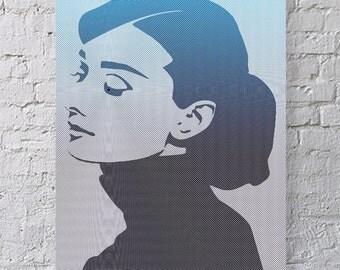 Art Print - Audrey Hepburn 60s Icon